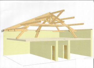 [:fr]3D charpente pour comble amenagé[:en]3D roof design for loft conversion[:]