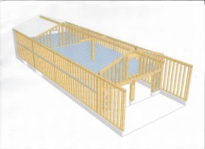 [:fr]3D ossature bois garage[:en]3D design garage structure[:]