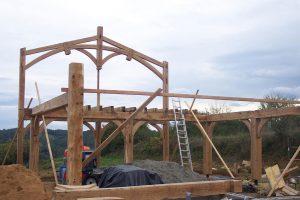 [:fr]Charpente chêne[:en]Oak roof frame[:]