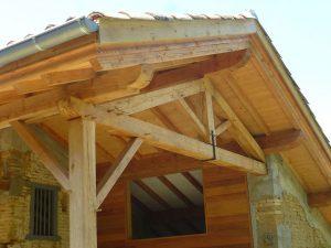 [:fr]Charpente chêne terrasse[:en]Covered terrace in oak[:]