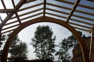 [:fr]Charpente lamellé collé plein ceintre[:en]Laminated full arch roof truss[:]