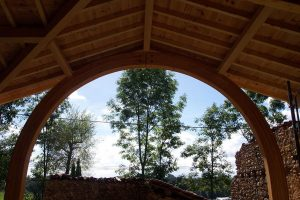 [:fr]Charpente lamellé collé plein ceintre[:en]Laminated full arch roof truss[:]