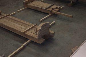 [:fr]Préparation charpente chêne[:en]Preparing oak frame[:]